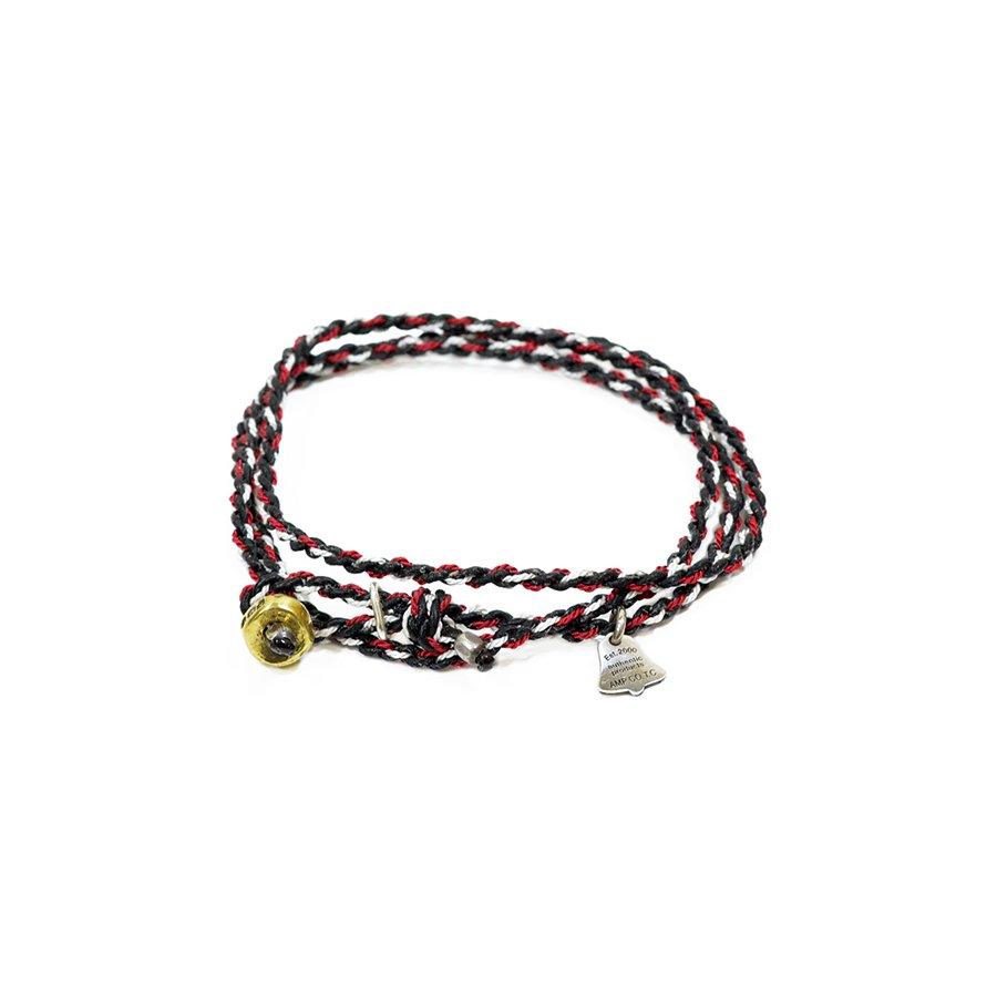 AMP JAPAN 12AH-300 yacht rope bracelet/Black