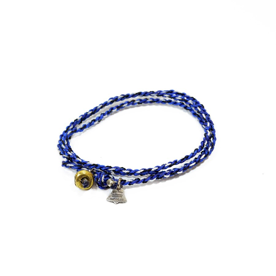 AMP JAPAN 12AH-300 yacht rope bracelet/Blue