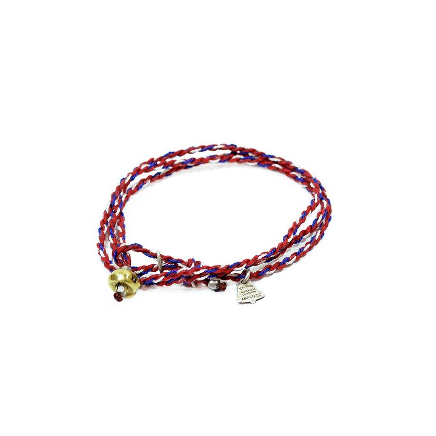 AMP JAPAN 12AH-300 yacht rope bracelet/Red