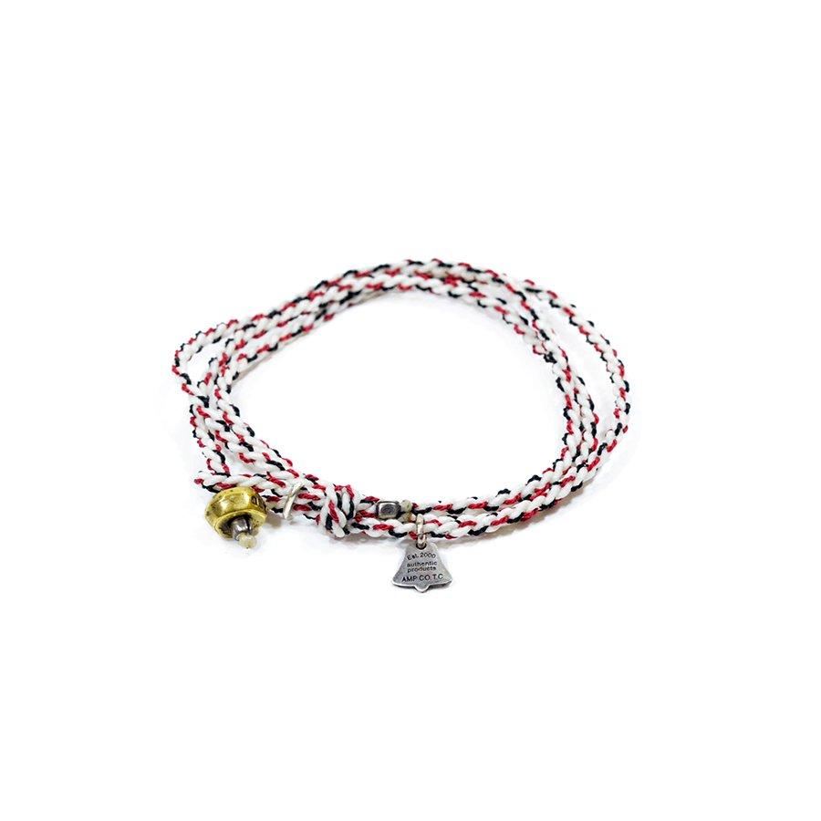 AMP JAPAN 12AH-300 yacht rope bracelet/White