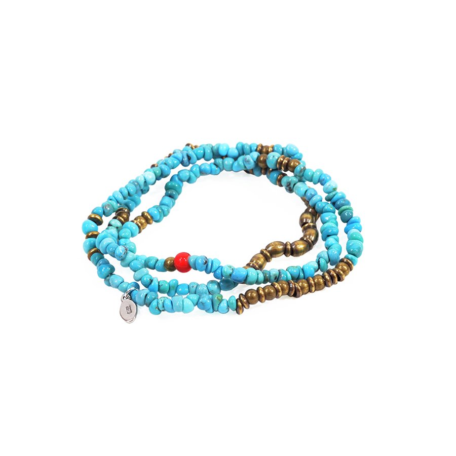 AMP JAPAN 13AHK-354 Turquoise Beads Brace&Neck