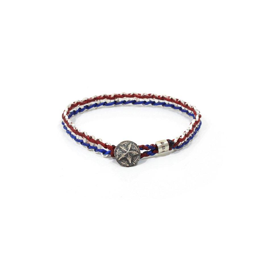 AMP JAPAN 16AC-425 Anchor Chain Braid Bracelet