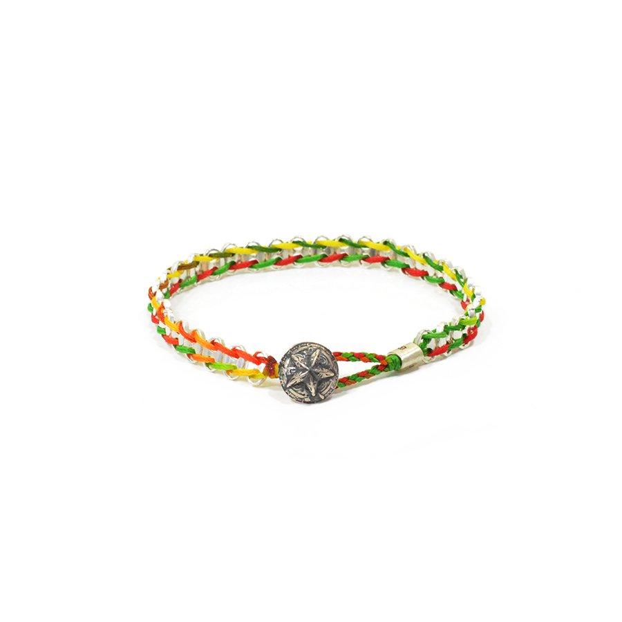 AMP JAPAN 16AC-426 Anchor Chain Braid Bracelet