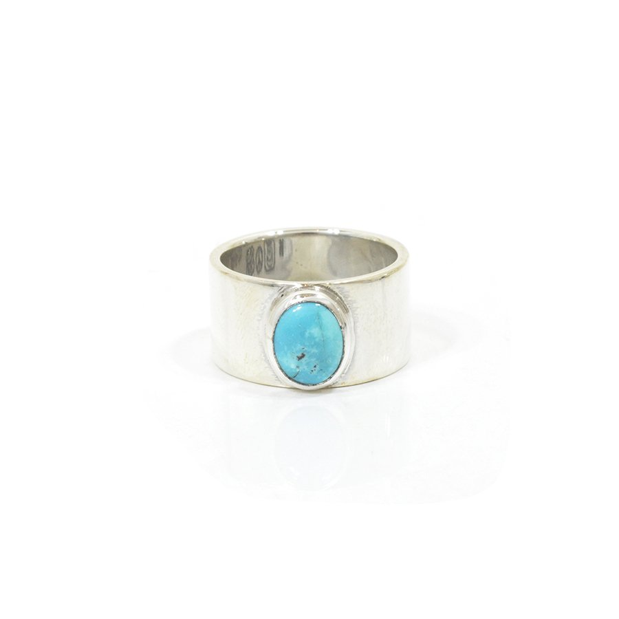 NORTH WORKS W-026 900Silver Turquoise Ring