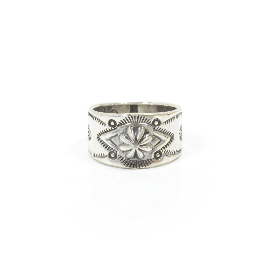 NORTH WORKS W-021 900Silver Stamp Ring