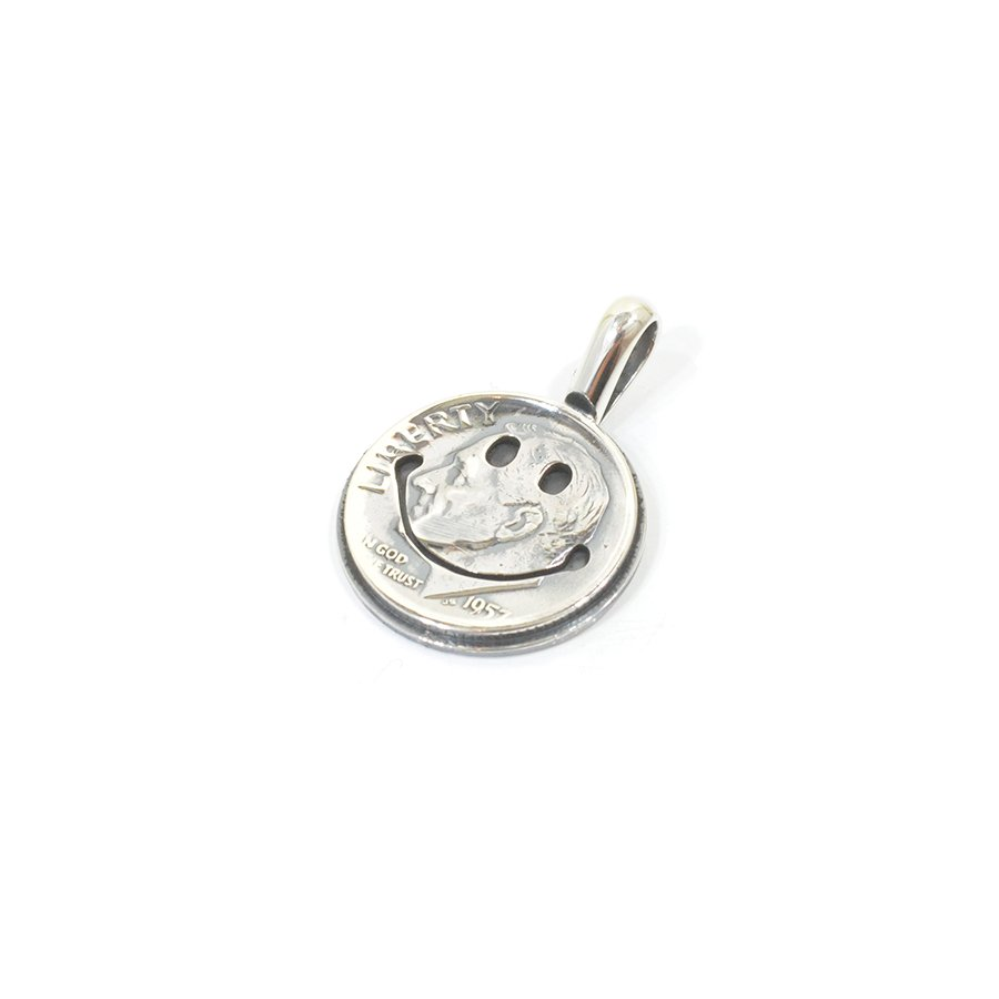 NORTH WORKS N-009 10¢ Smile Coin Pendant