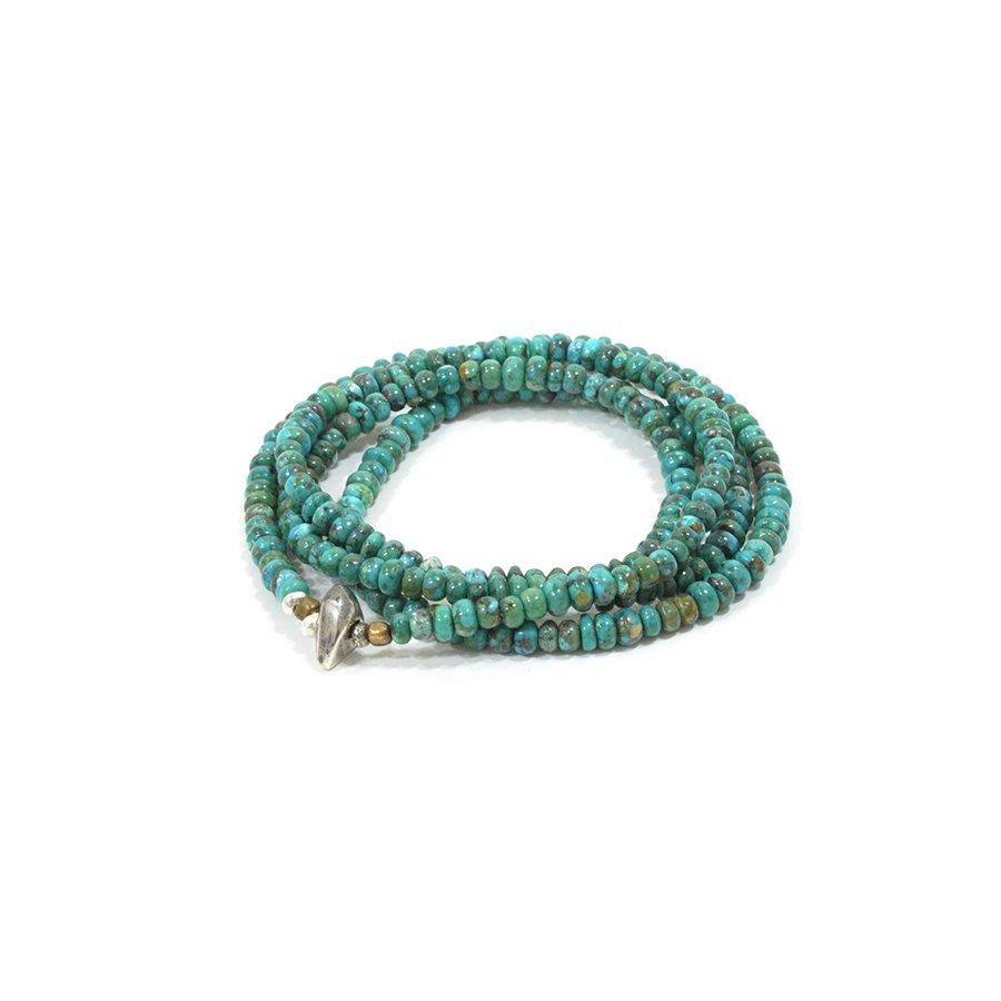 Sunku SK-124 Turquoise Necklace & Bracelet