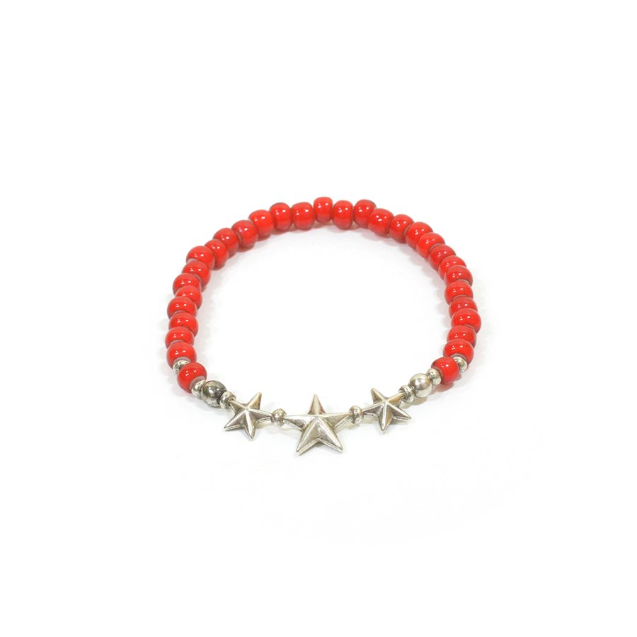 Sunku SK-139RED STAR BEADS BRACELET