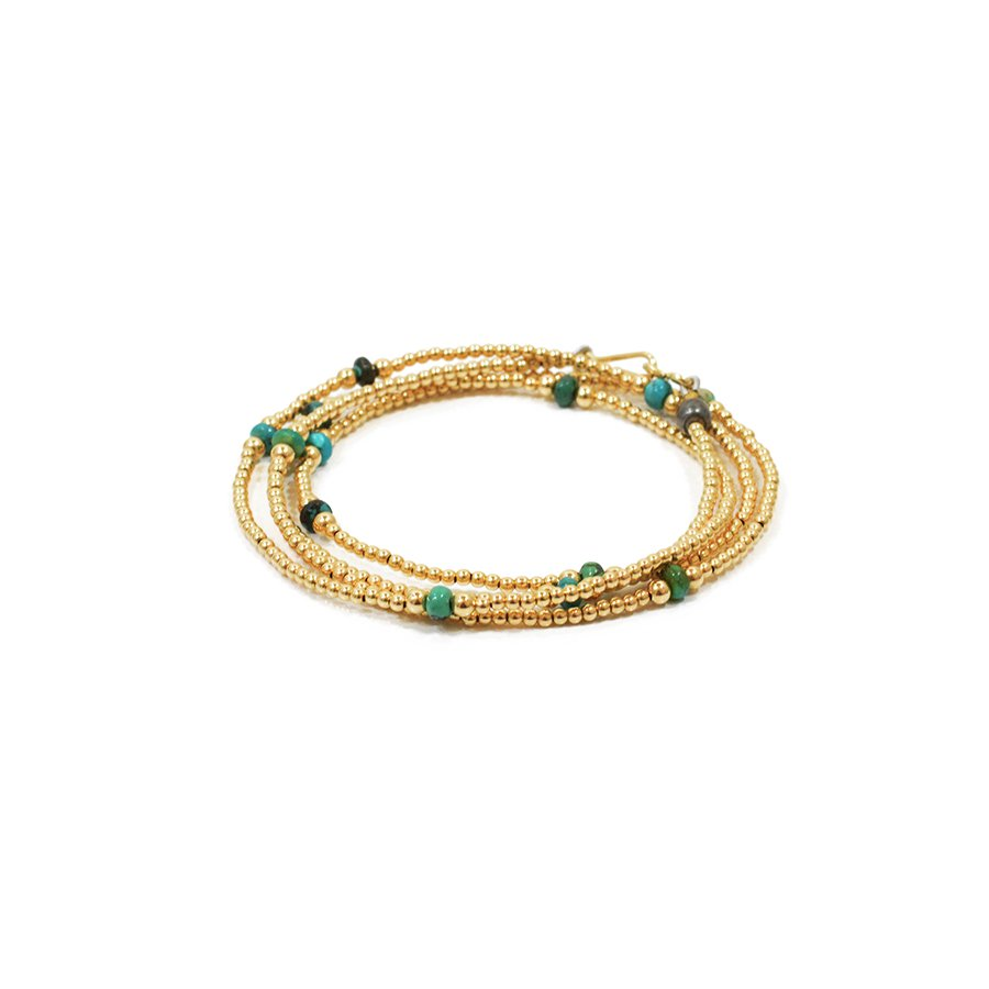 Sunku SK-113 Small Beads Long Necklace