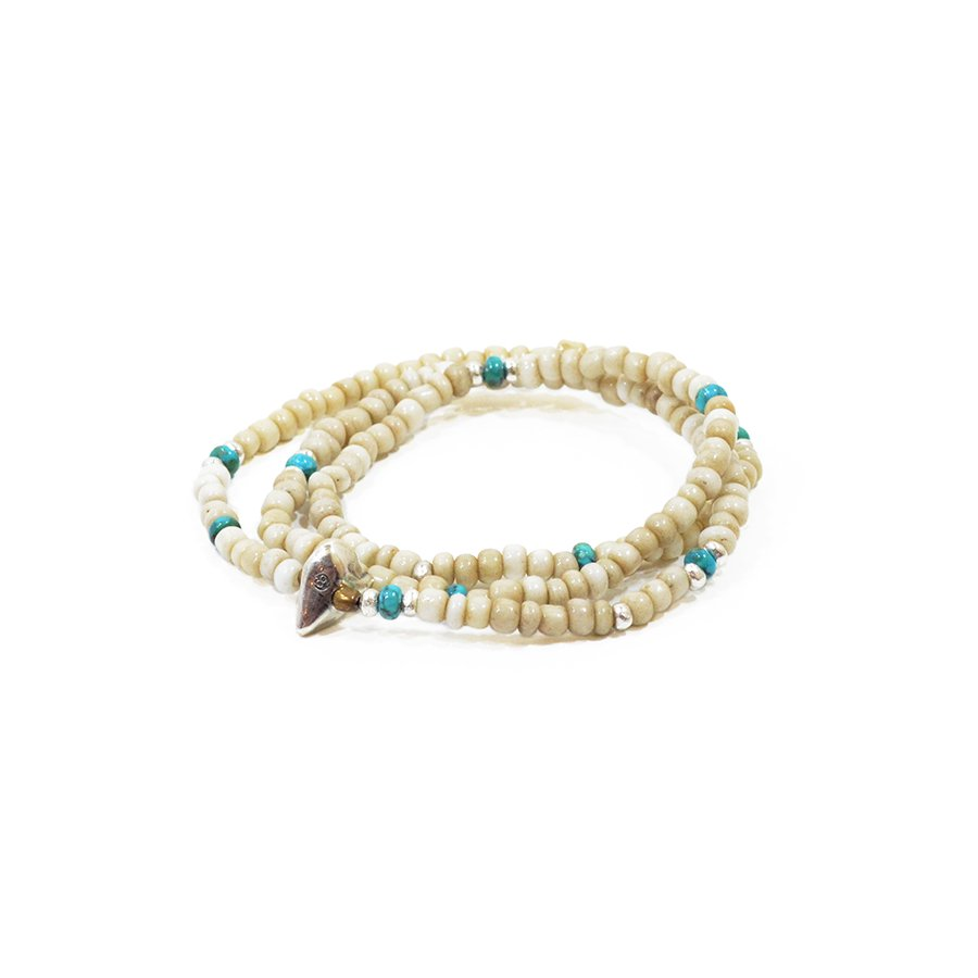 Sunku LTD-024 Antique Beads Necklace & Bracelet
