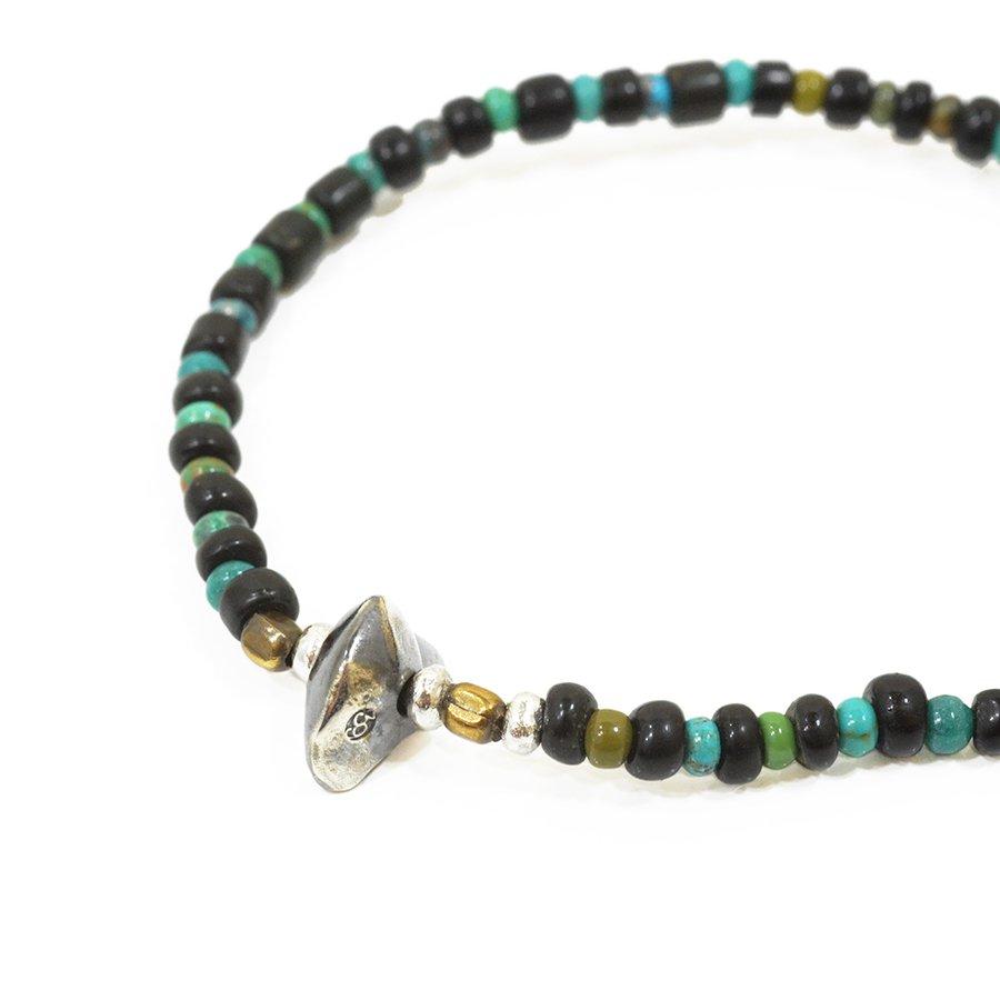 Sunku LTD-015 Antique Beads Bracelet Black