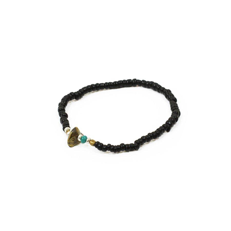 Sunku LTD-013 Antique Beads Bracelet Black