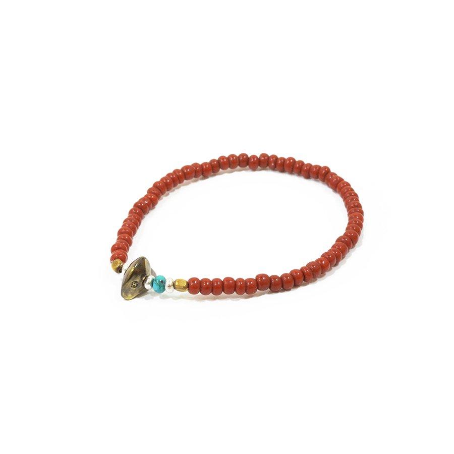 Sunku LTD-019 Antique Beads Bracelet Brown