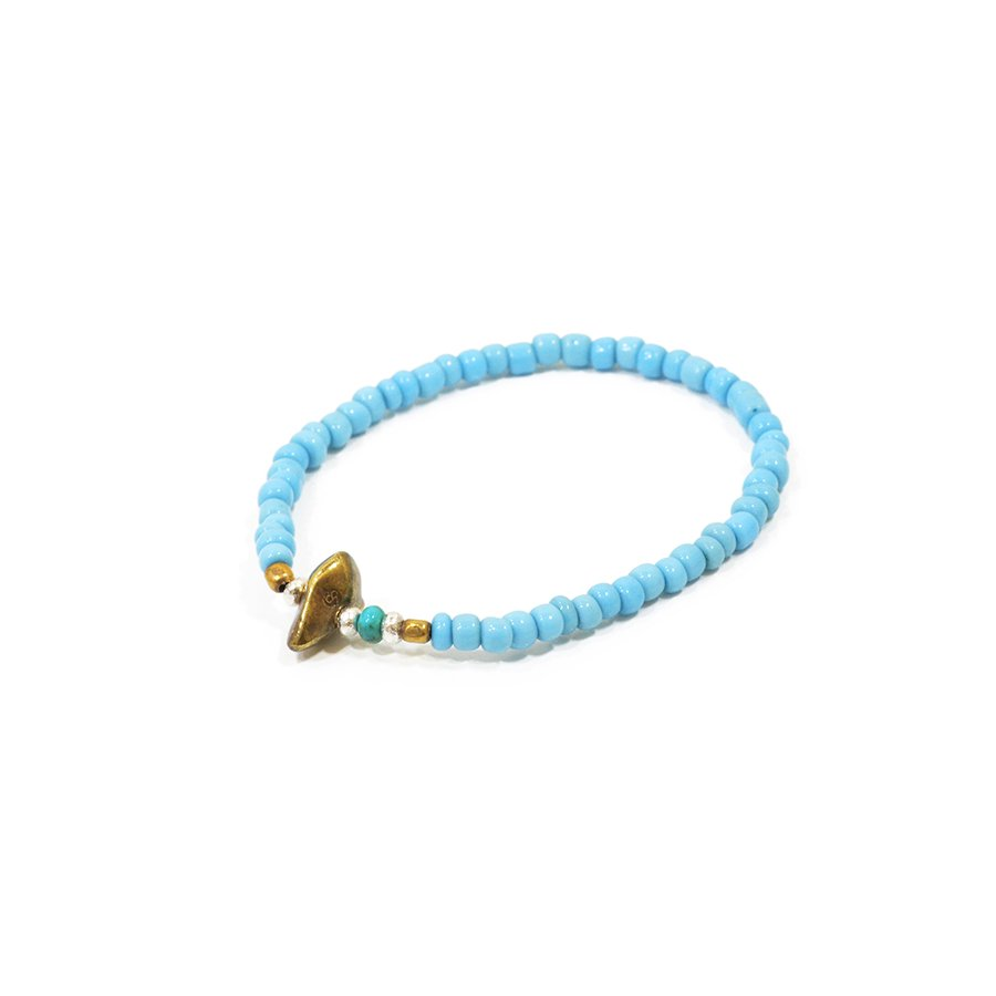 Sunku LTD-017 Antique Beads Bracelet Sax