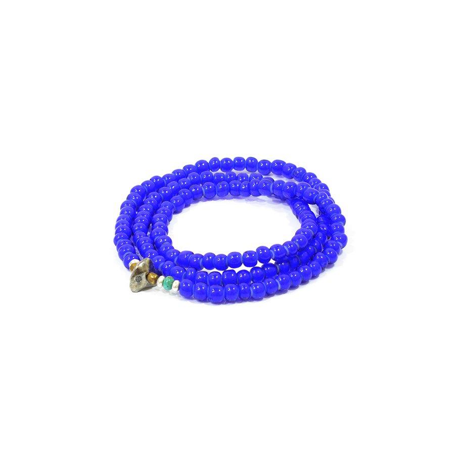 Sunku LTD-012 White Heart Beads Necklace & Brace