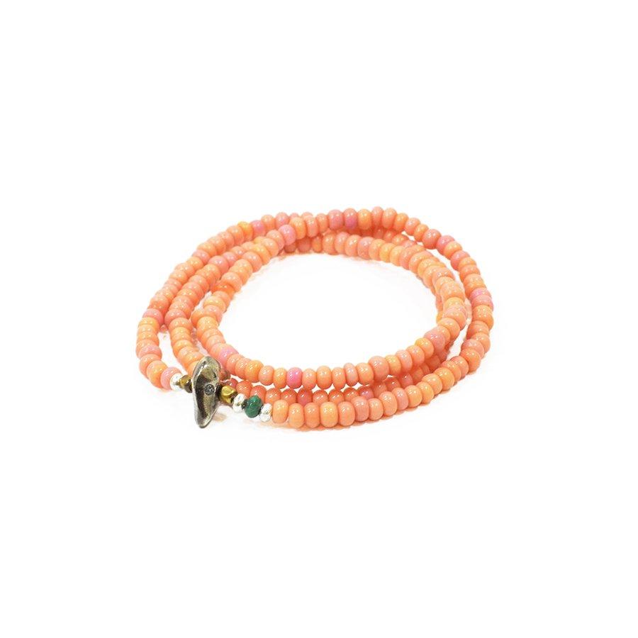 Sunku LTD-002 Antique Beads Necklace & Bracelet