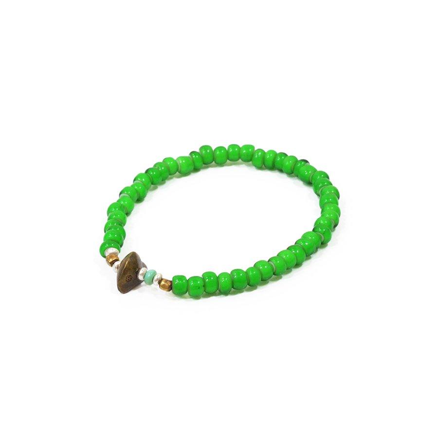 Sunku LTD-009 Antique Beads Bracelet Green