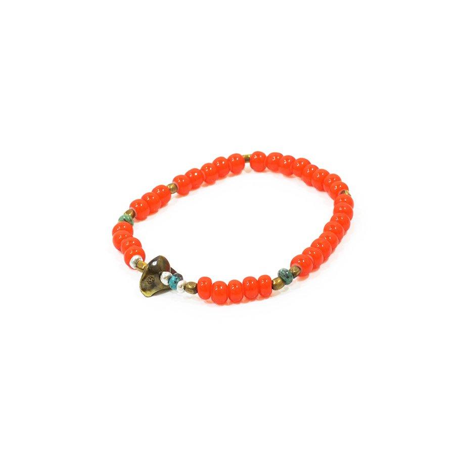 Sunku LTD-007 Antique Beads Bracelet Orange