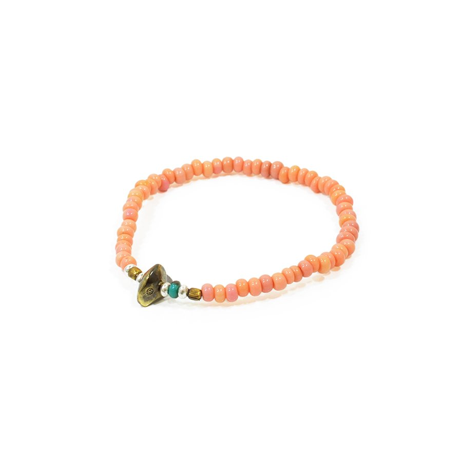 Sunku LTD-001 Antique Beads Bracelet Baby Pink