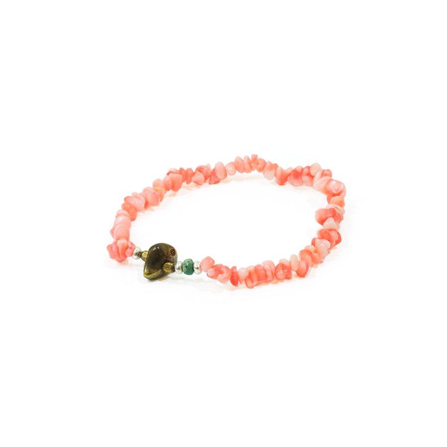 Sunku SK-051 Pink Coral Bracelet