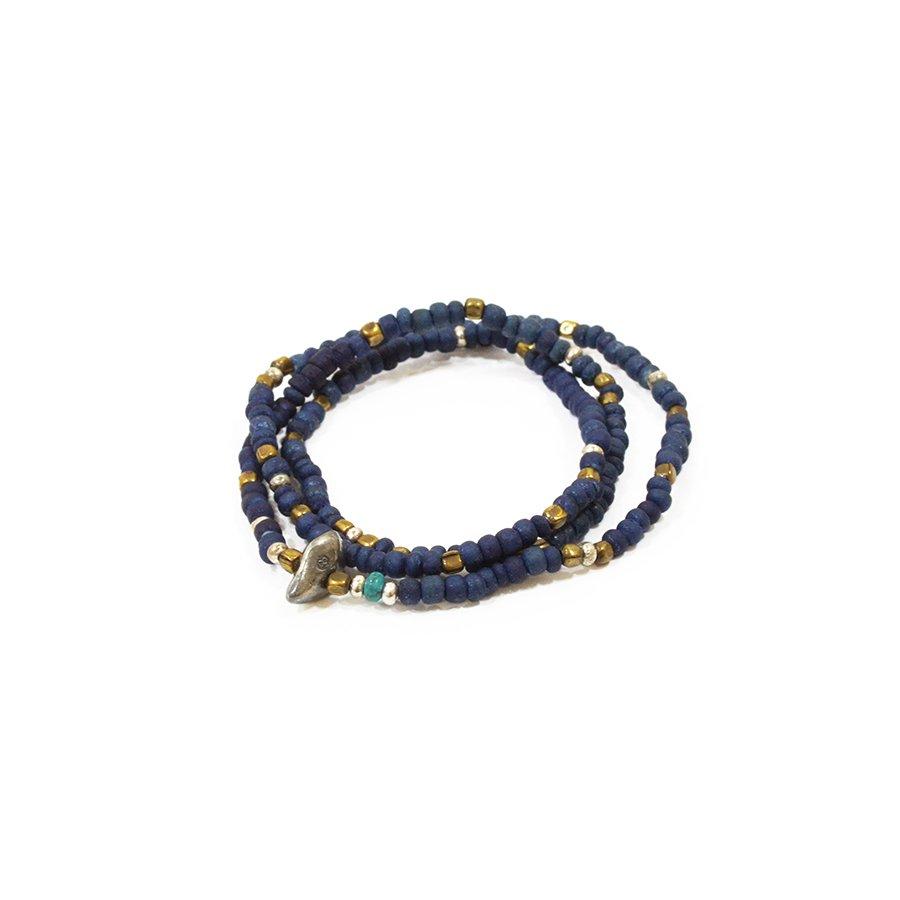 Sunku SK-014 Indigo Dye Beads (S Beads)
