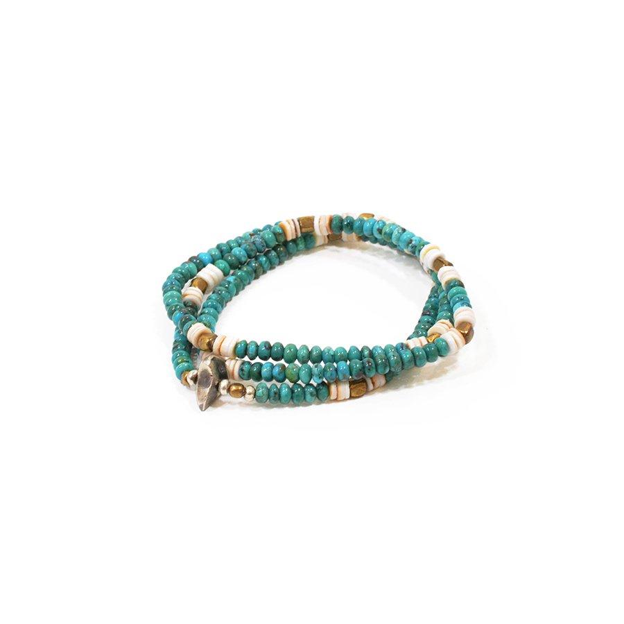Sunku SK-089 Turquoise Beads Mix Neck&Brace