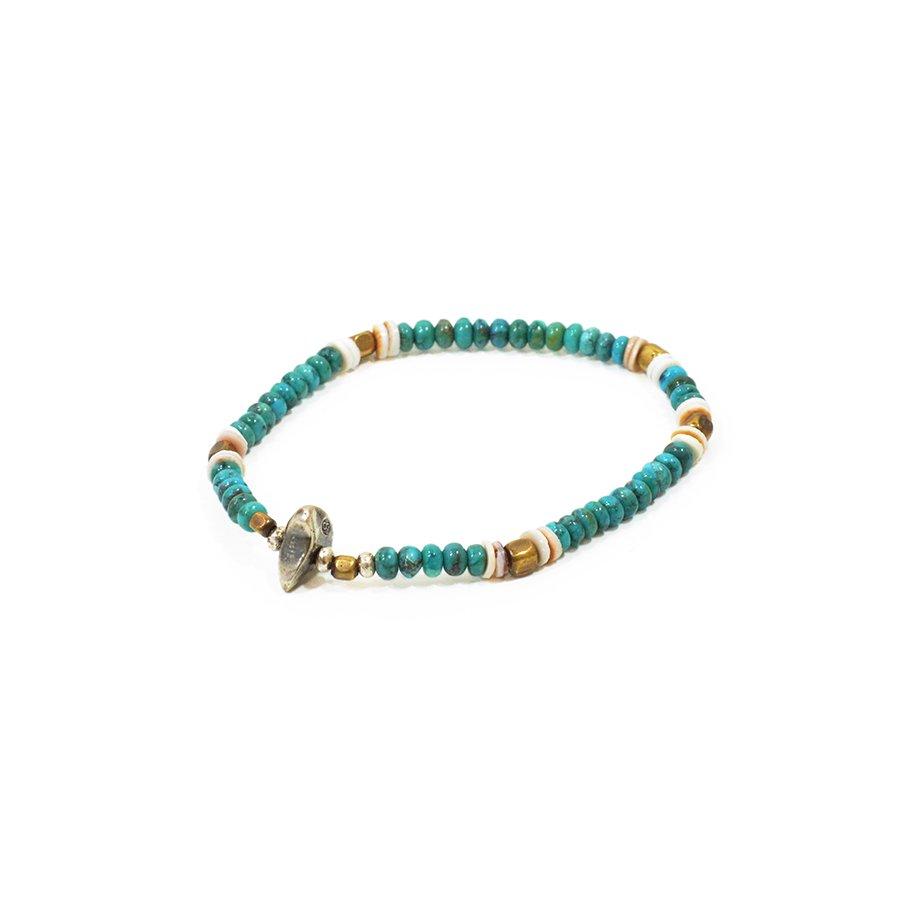 Sunku SK-102 Turquoise Beads Mix Bracelet