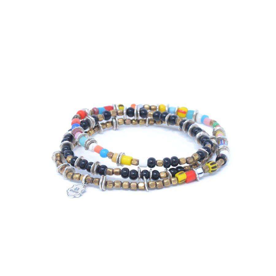 AMP JAPAN HYHK-412 Triple Part Long Beads -Mix-