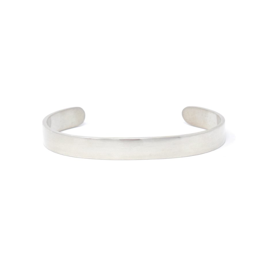 20/80 AB007 STERLING SILVER ID BANGLE 8mm width
