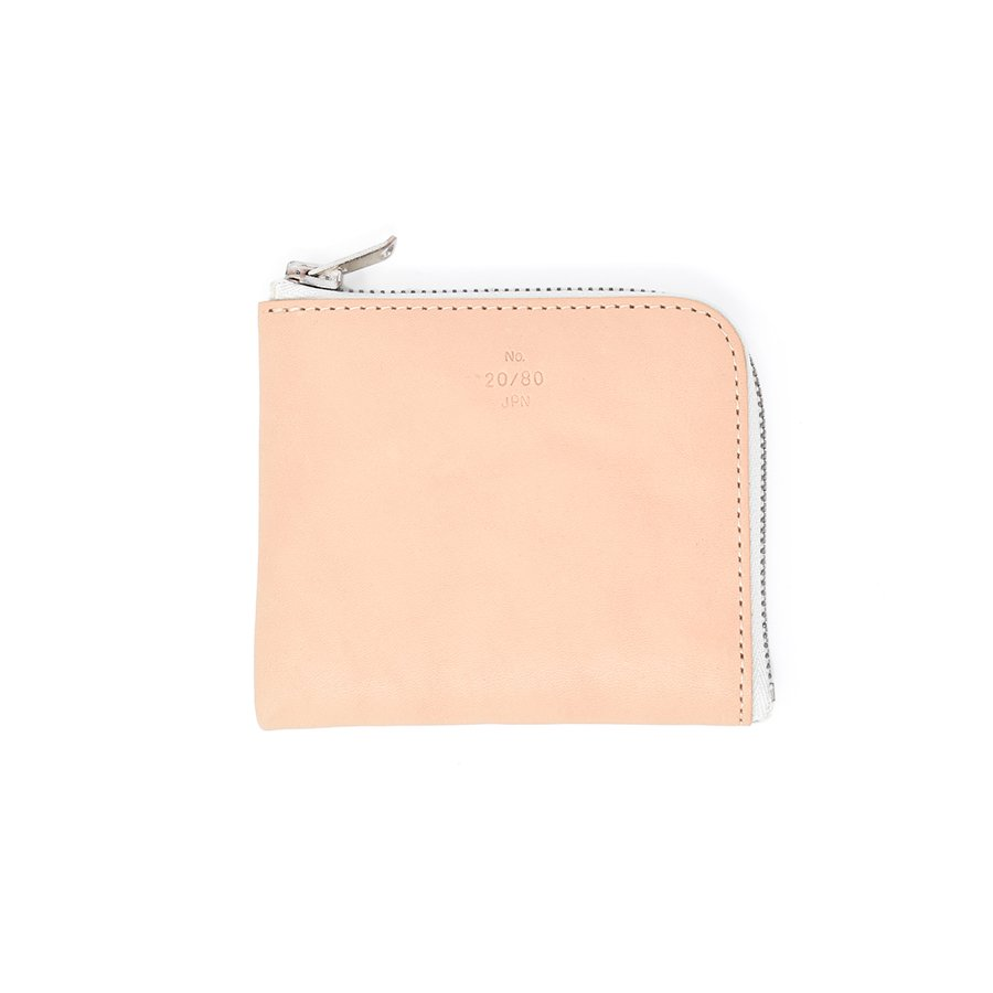 20/80 W023 TOCHIGI LEATHER L ZIP WALLET