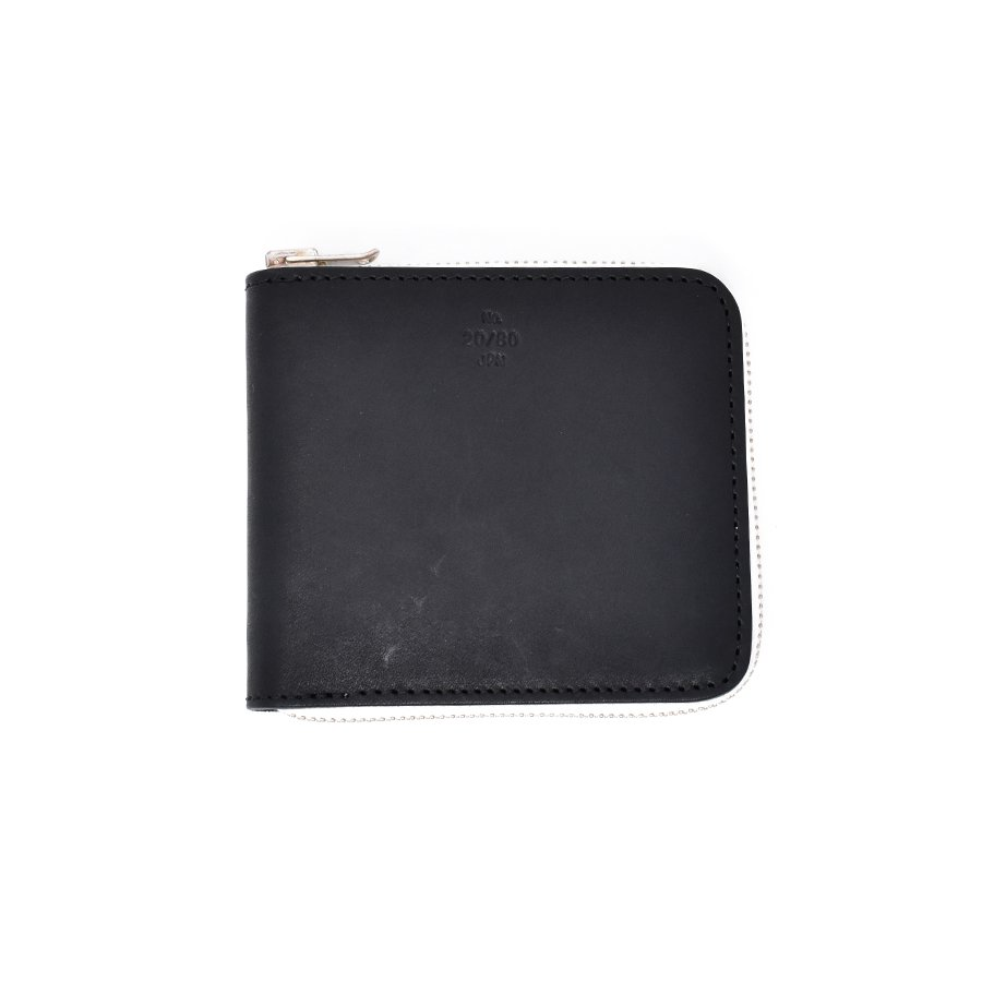 20/80 W024 TOCHIGI LEATHER SQUARE ZIP WALLET