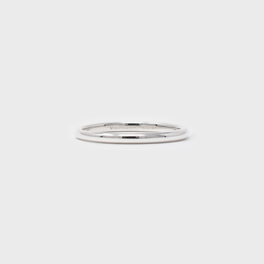 "UNKNOWN. U070 "" SUPREME "" RING / SILVER"