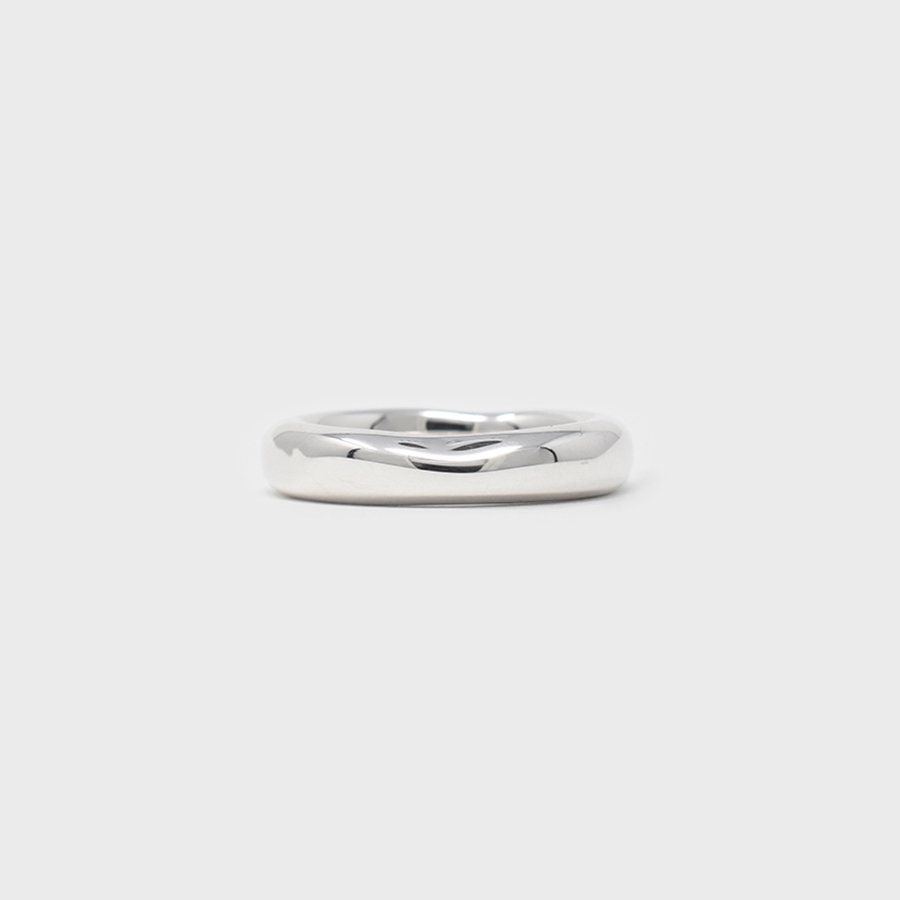 "UNKNOWN. U072 "" HERE "" RING / SILVER"
