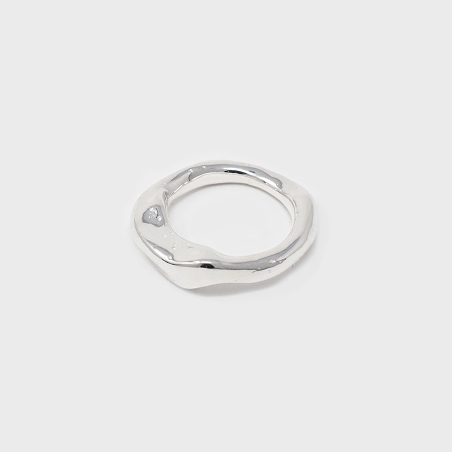 "UNKNOWN. U074 "" TICK2 "" RING / SILVER"