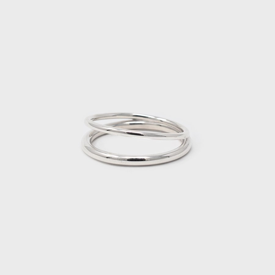 "UNKNOWN. U075 "" SUBTLE "" RING / SILVER"