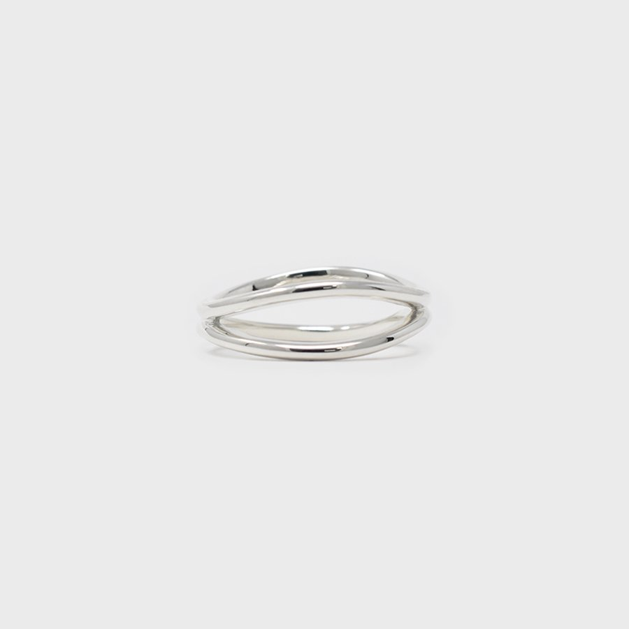 "UNKNOWN. U076 "" SAME "" RING / SILVER"