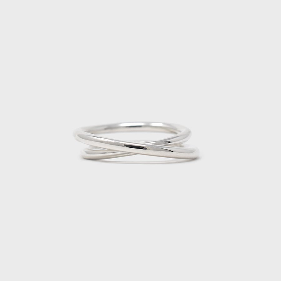 "UNKNOWN. U077 "" NARROW "" RING / SILVER"