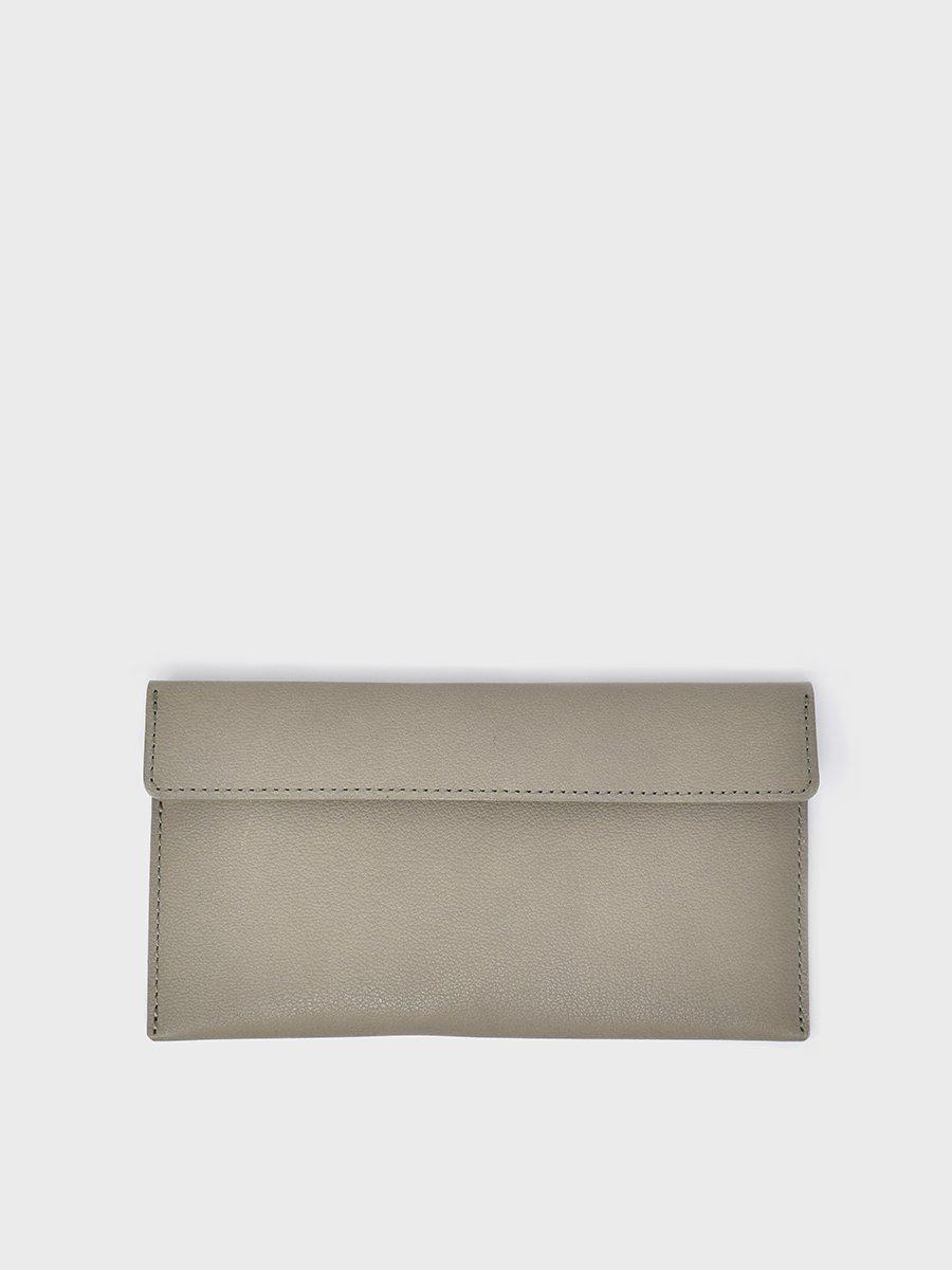 sugata 長財布 | 工夫の重なり GRAY