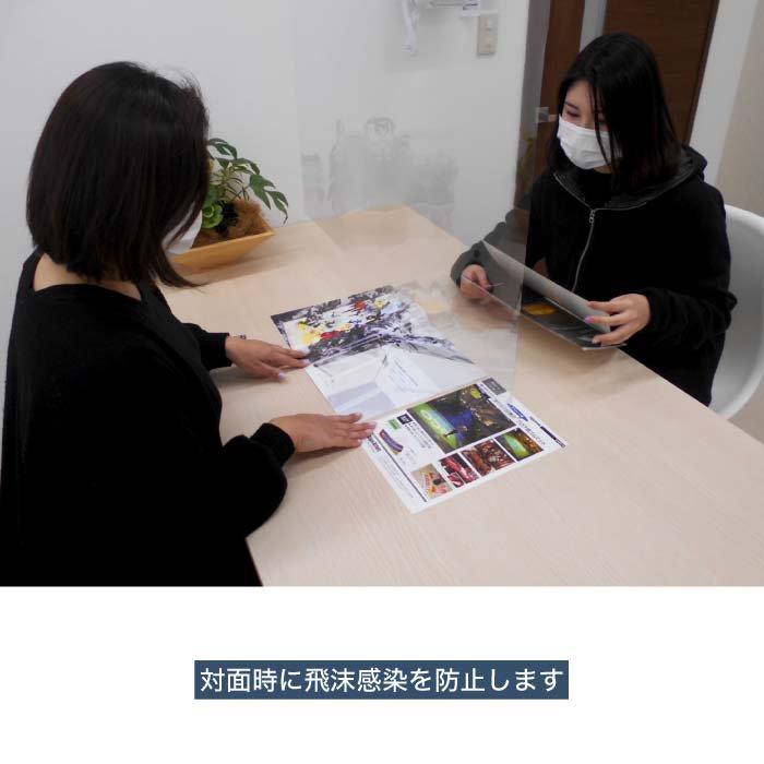 飛沫感染防止シート 1枚+吊具セット付【透明/防炎タイプ】