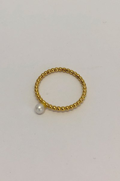 【charlotte wooning】small paerl ring