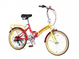 ジェリーベリー 20型 外装6段変速付折り畳み自転車/TJB-206FD