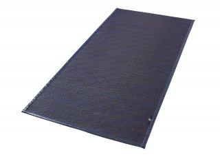 Igusa Tatami Rug|BL×BR<br>無染土い草ラグ|ブルー×ブラウン