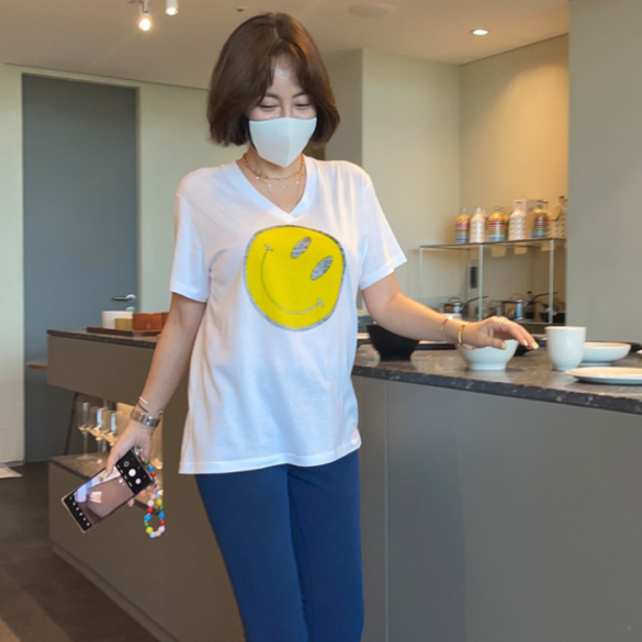 【amai】 Smile T-shirt