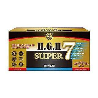 【美容サプリ】H.G.H SUPER 7(1箱)12g×31袋入 白寿