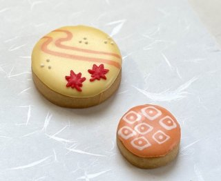 アイシングクッキー「もみじと和柄」
