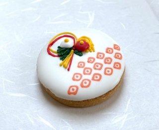 アイシングクッキー「和柄・しろ色」