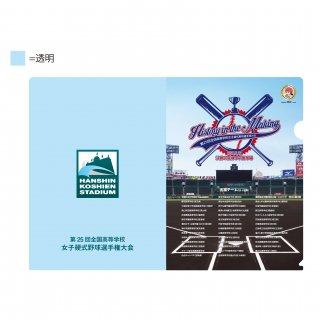 2021全国高校女子野球  クリアファイル(全出場チーム入り)
