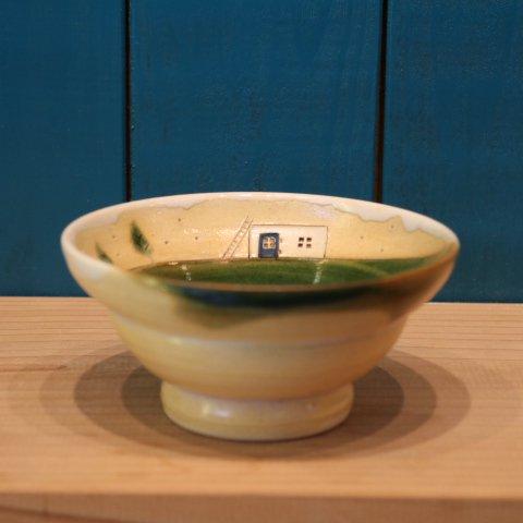 【左右田様購入済】はしごのあるオウチのお茶碗