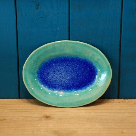 海色ミニオーバル皿