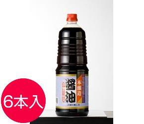 本醸造醤油1.8L6本入